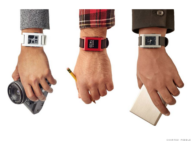 2014 best gadgets: 03 pebble