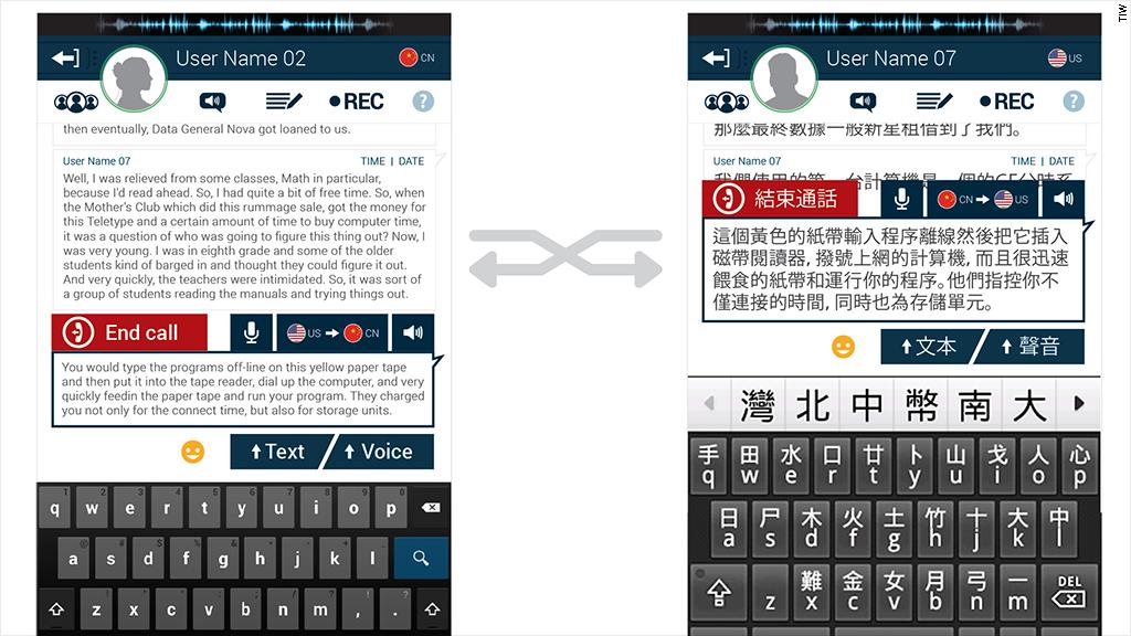 tiw translation app