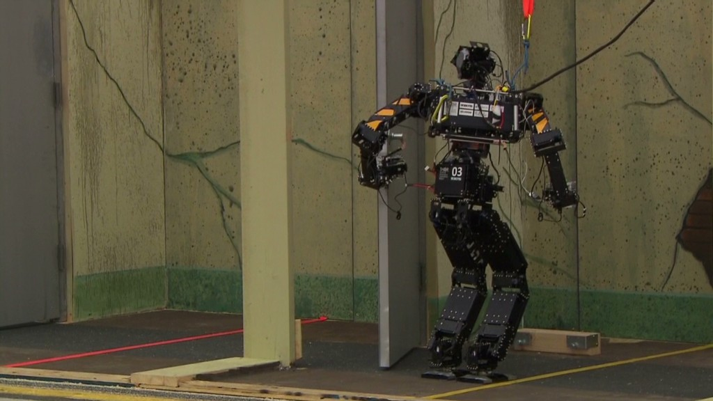 Robots get ready for DARPA challenge