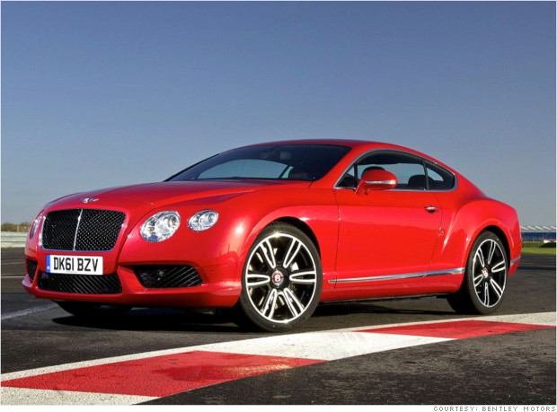 Exotic Cars 2013 Bentley Continental GT...