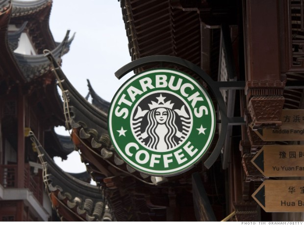 2013 china starbucks