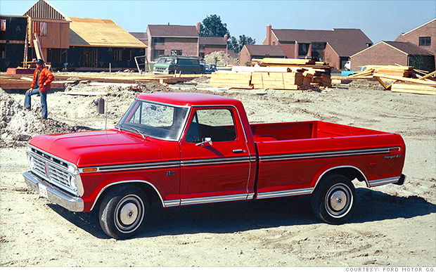 1975 ford f 150 evolution of the ford f 150 cnnmoney. Black Bedroom Furniture Sets. Home Design Ideas