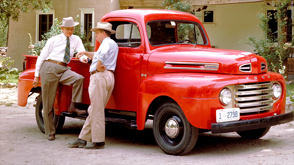 ford truck history 1948 ford f 1