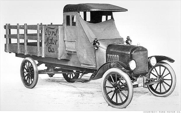 ford truck history 1917 model tt