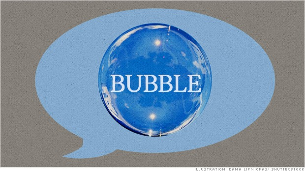 Talk of a market bubble is the real bubble