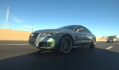 Watch a driverless Audi hit the highway