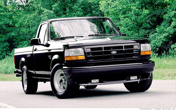 1993 lightning strikes evolution of the ford f 150 cnnmoney. Black Bedroom Furniture Sets. Home Design Ideas