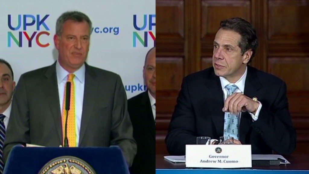 Paying for Pre-K sparks tax battle in NYC