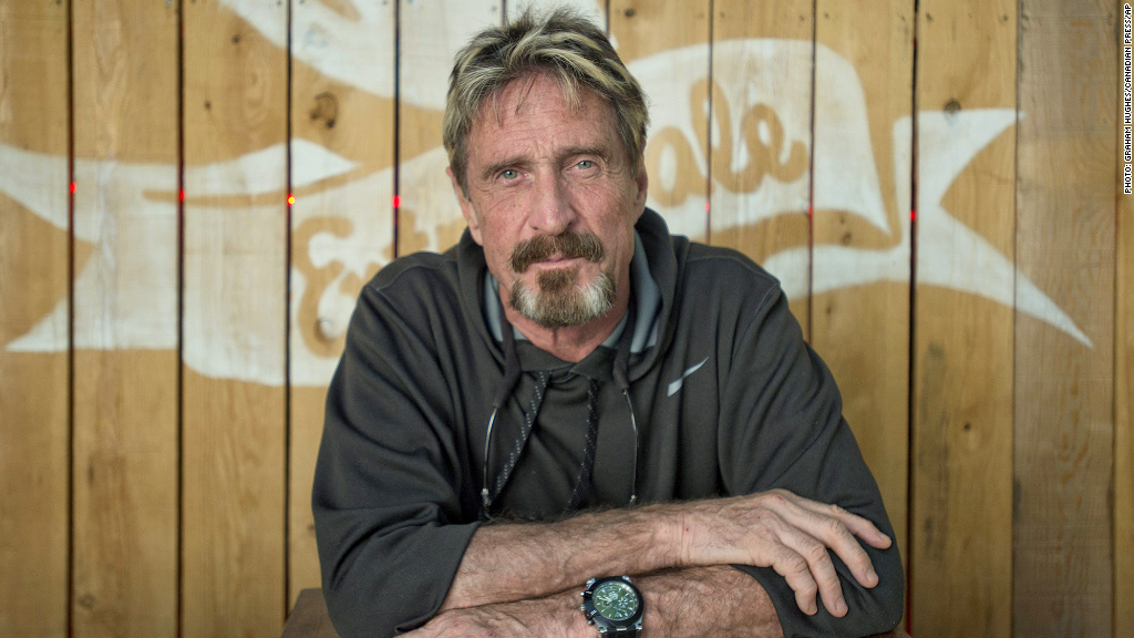 John McAfee on Russian