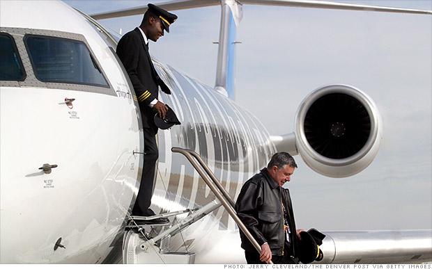 regional airline pilots
