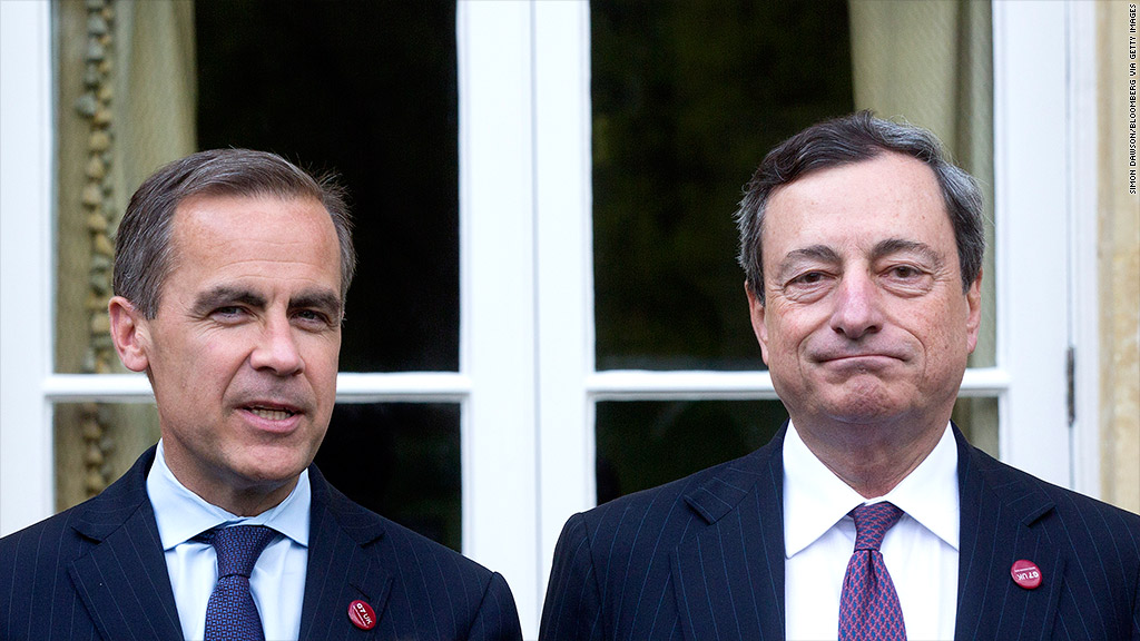 mario draghi mark carney