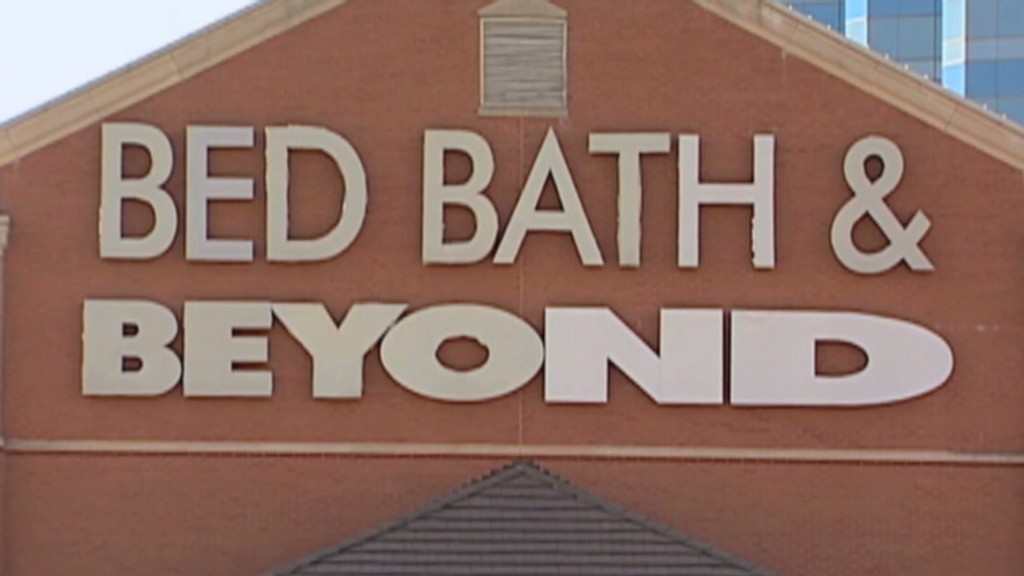 Frank the Tank skipped Bed Bath & Beyond