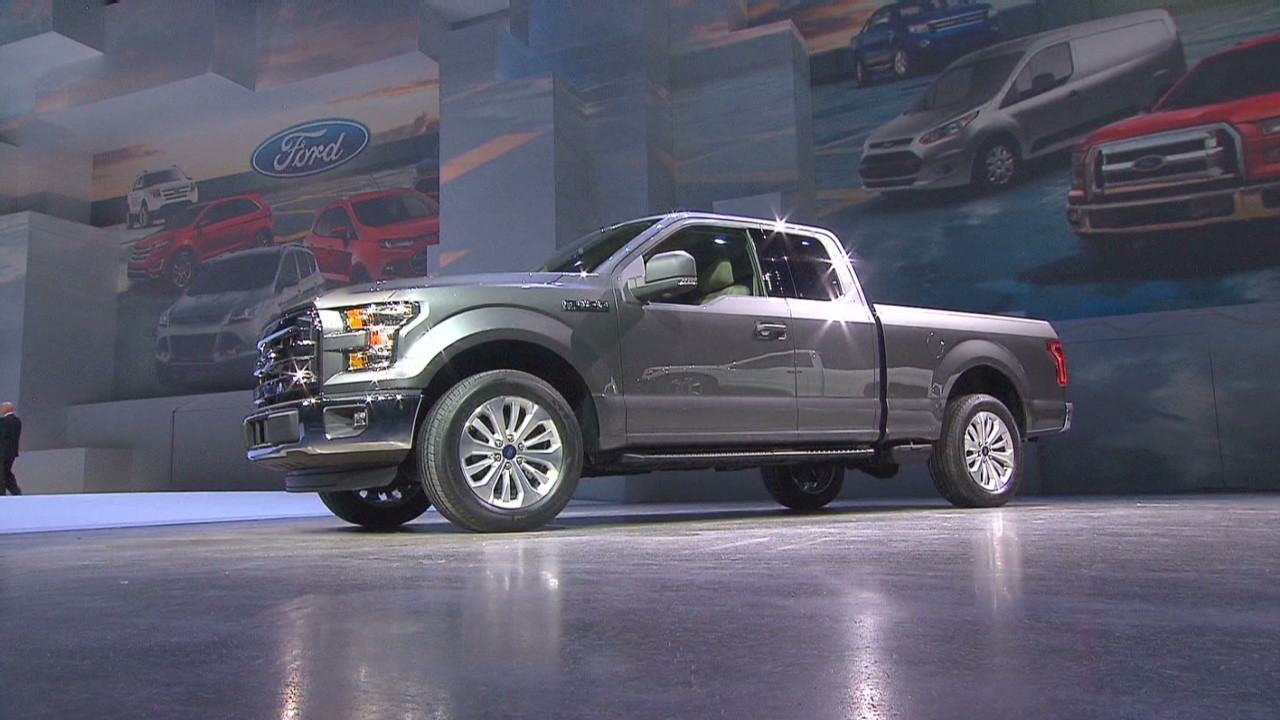 At the 2014 detroit auto show ford unveiled a 700 lb lighter aluminum body pick up truck that promises to be more fuel efficient but just as powerful as