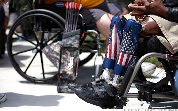 Help Disabled Veterans