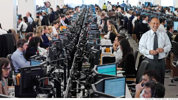 Goldman Sachs Trading Floor Yes, Goldman Sachs rea...
