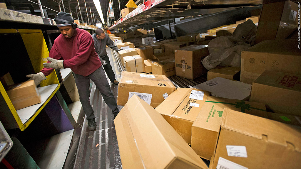 ups weak holiday shipping