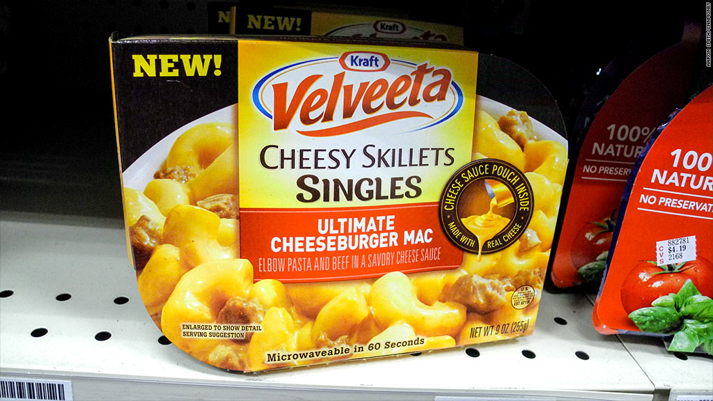 velveeta singles ultimate cheeseburger mac