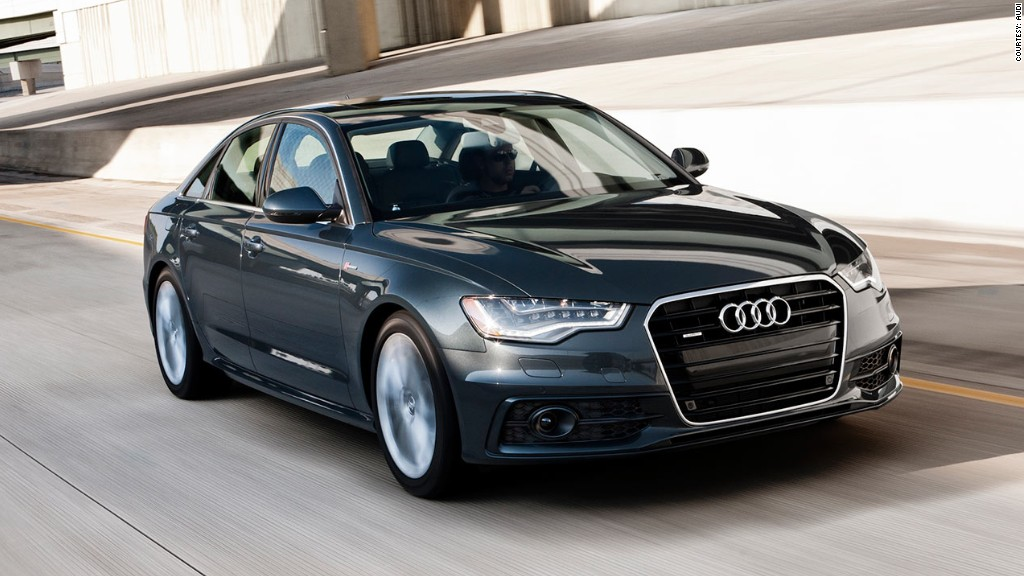 Audi A The Hottest Luxury Cars In China CNNMoney - Audi car top model
