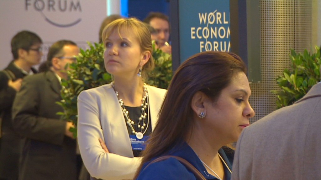 Where are the women in Davos?