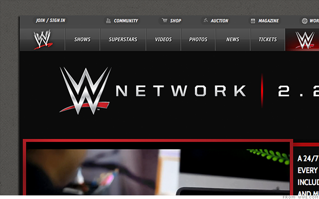 wwe network online tv
