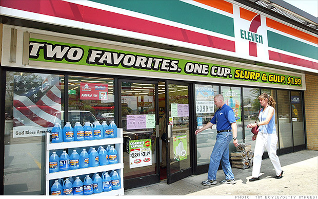 minimum wage 7 eleven