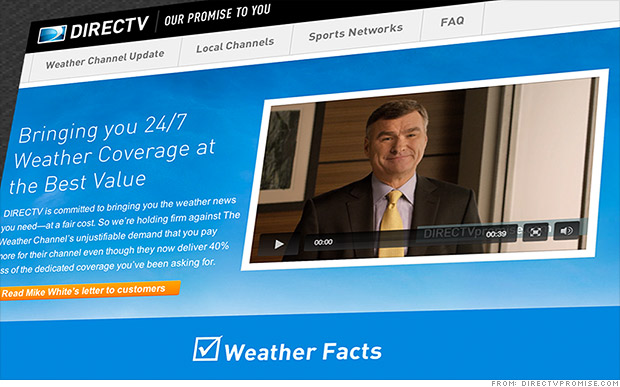 Weather Channel-DirecTV blackout: No end in sight
