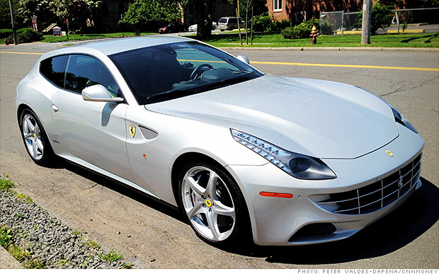 luxury car sales ferrari