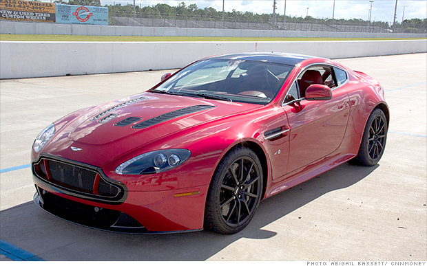 luxury car sales aston martin
