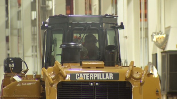 Caterpillar gives investors hope