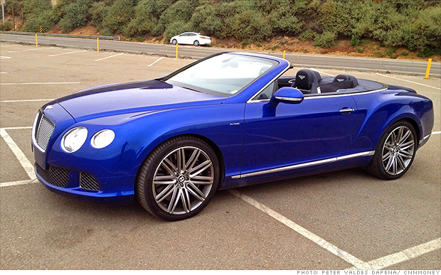 luxury car sales bentley continental