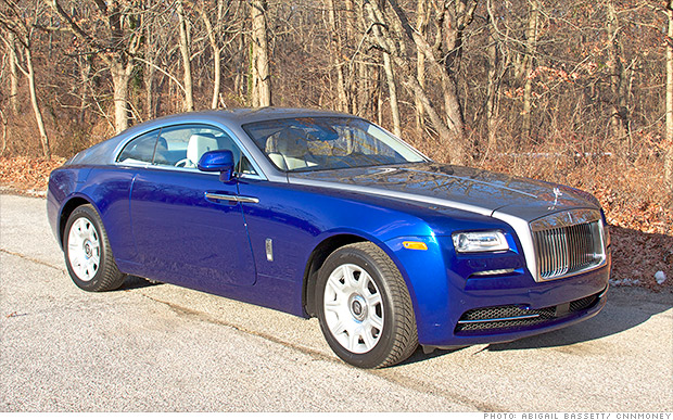 luxury car sales rolls royce wraith