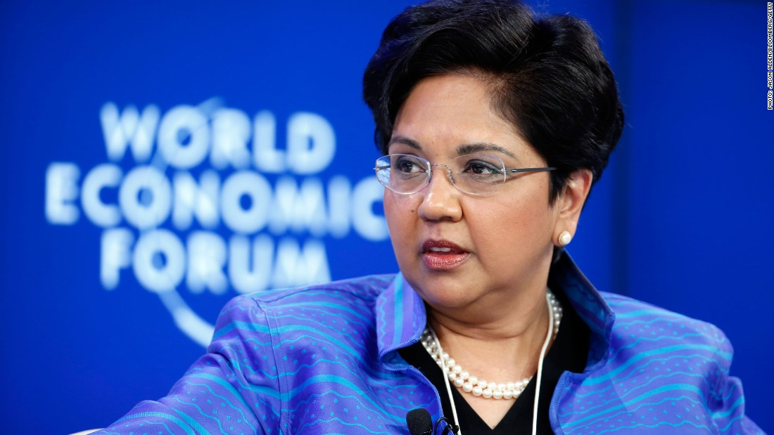 Pepsi CEO Indra Nooyi gets big pay bump - Mar. 18, 2017