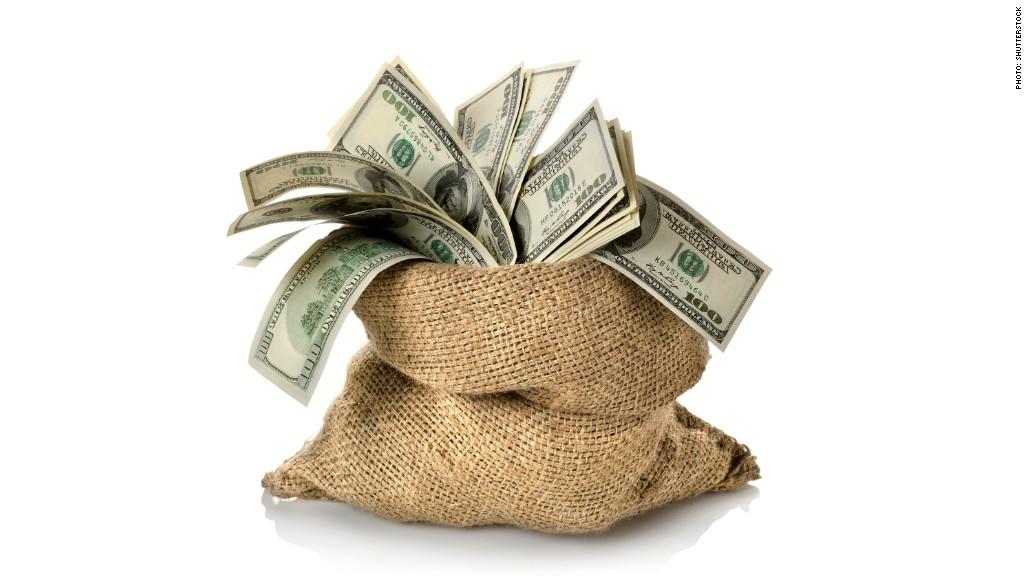 pension moneybag