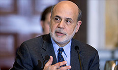 Fed continues taper as Bernanke's term ends
