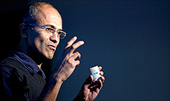 Microsoft names Nadella CEO, Gates out as chair