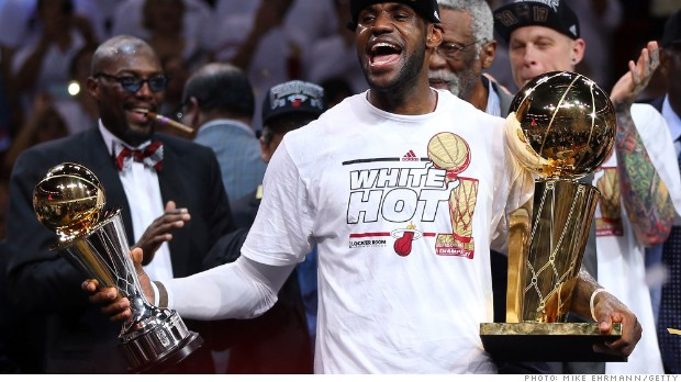 sports salaries lebron james