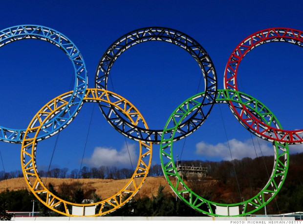 sports salaries olympic rings sochi 2014