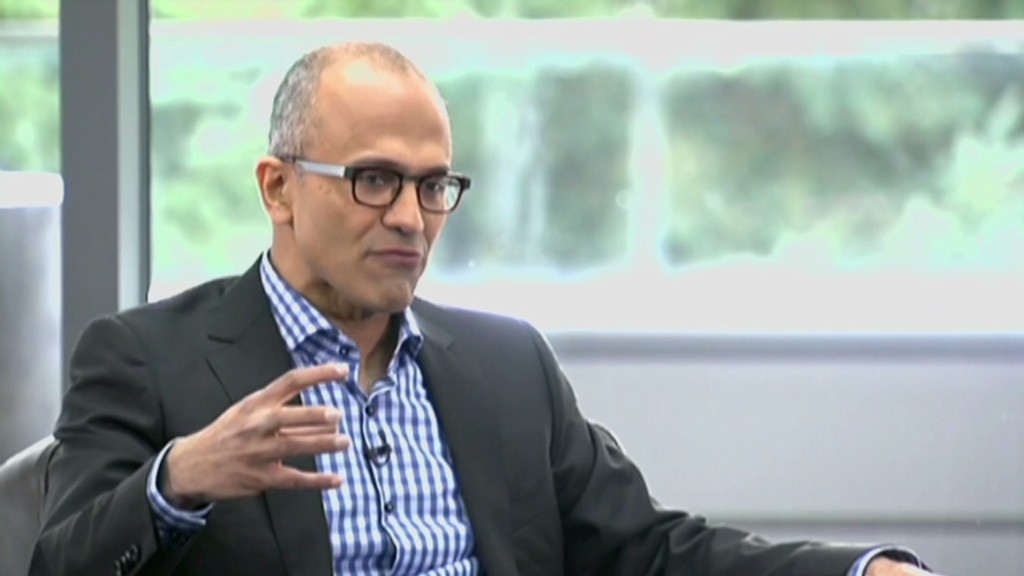 "Microsoft CEO: ""Mobile first, cloud first"""