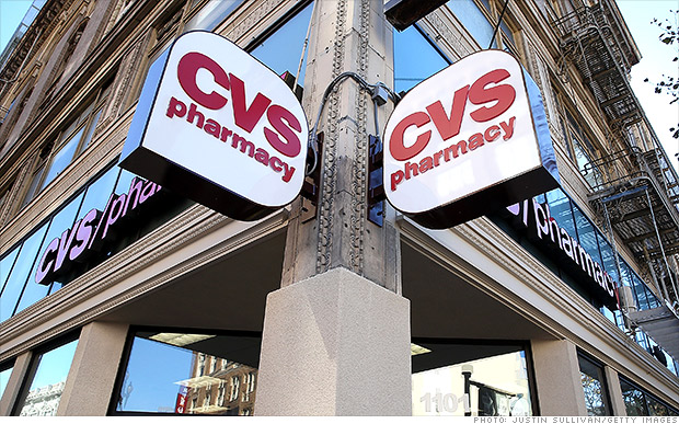 CVS stores to stop selling tobacco