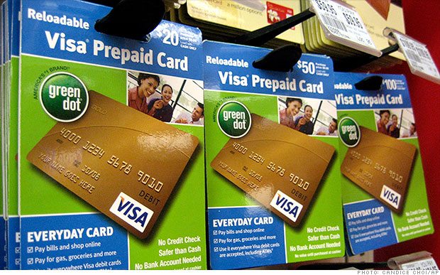 how to take money out of a prepaid card