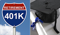Which comes first -- student loans or 401(k)?