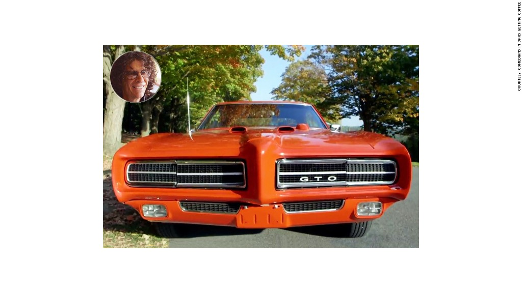 1969 pontiac gto check out all the cool cars from comedians in cars getting coffee by dubly. Black Bedroom Furniture Sets. Home Design Ideas