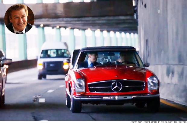 1970 mercedes 280sl check out all the cool cars from comedians in cars getting coffee by. Black Bedroom Furniture Sets. Home Design Ideas