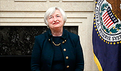 Janet Yellen takes center stage