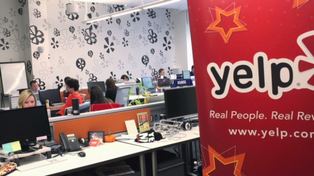 Yelp stock gets glowing review