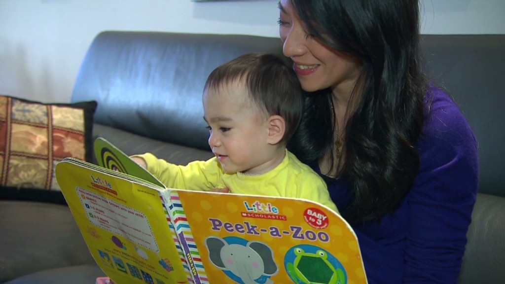 AOL 'distressed' baby's mom sounds off