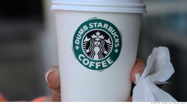 dumb starbucks cup