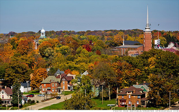 affordable small cities springfield ohio