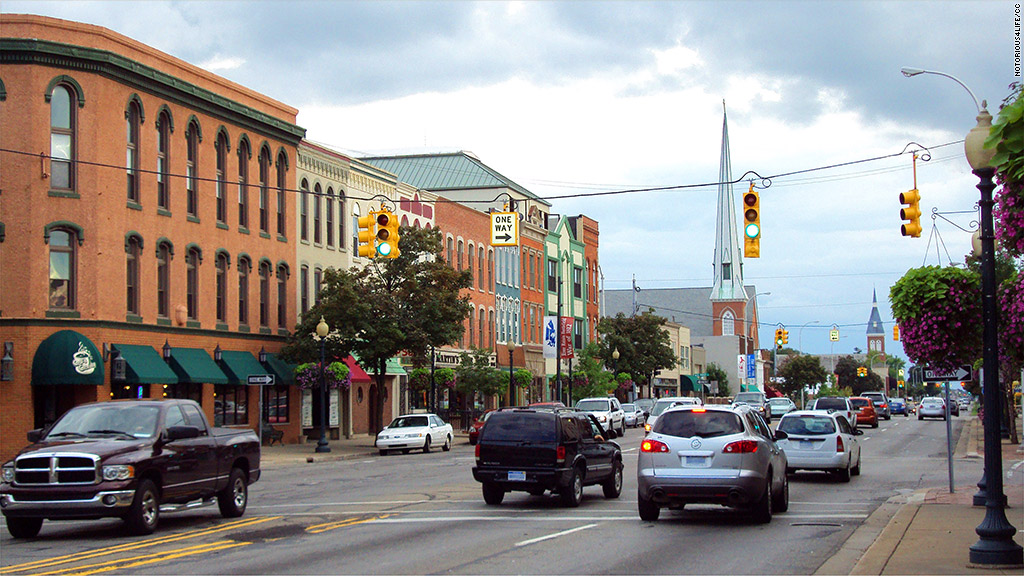 affordable small cities monroe michigan