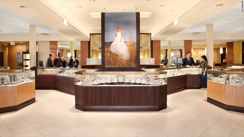 Signet jewelers to buy zale for 1 4 billion feb 19 2014 for Jared jewelry store website